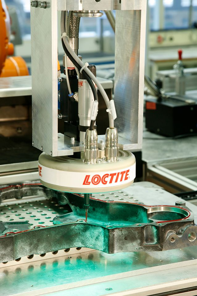 Historic Loctite production